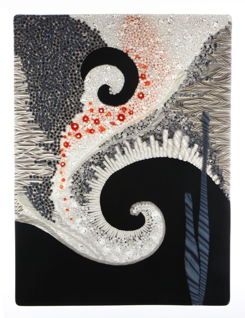 Wandbild Vergangenheit 4 - Glaskunst Barbara Schmidl